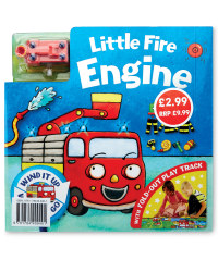 Little Fire Engine Board & Book