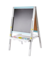 Little Town Double-Sided Easel - Blue & Grey