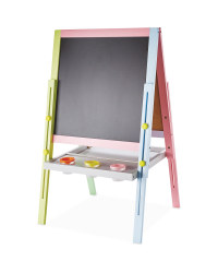 Little Town Double-Sided Easel - Pastel
