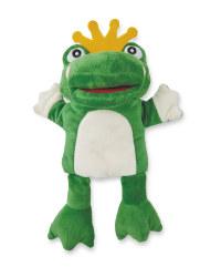 Little Town Frog Hand Puppet