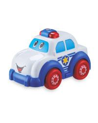 Little Town Light & Sound Police Car