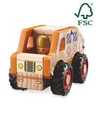 Little Town Wooden Army Vehicle