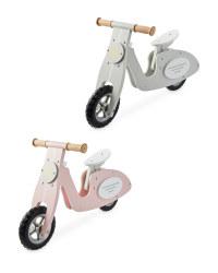Wooden Balance Bike Scooter