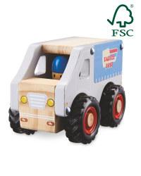 Little Town Wooden Courier Van