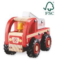 Little Town Wooden Fire Truck