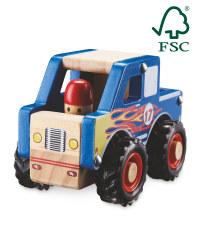 Little Town Wooden Monster Truck