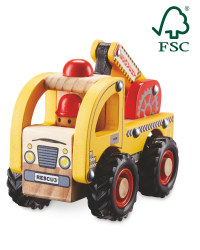 Little Town Wooden Recovery Truck