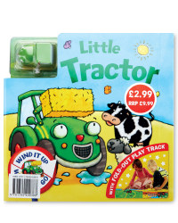 Little Tractor Board & Book