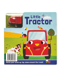 Little Tractor Busy Day Board & Book
