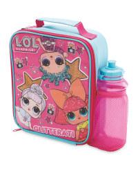 Lol  Lunch Bag and Bottle Set