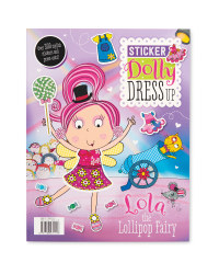 Lola Dress Up Sticker Book