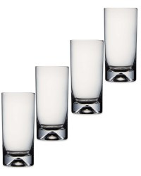 Crofton Long Tumbler Glasses 4 Pack