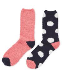 Avenue Soft Lounge Spot Socks