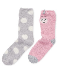Avenue Soft Lounge Unicorn Socks