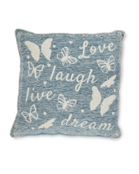 Love, Laugh, Live Decorative Cushion