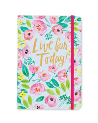 'Live for Today' Notebook
