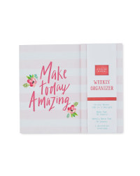 'Amazing Today' Weekly Organiser