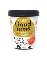 Low Calorie Salted Caramel Ice Cream