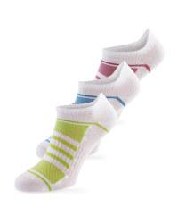 3 Pack Low-cut Fitness Socks