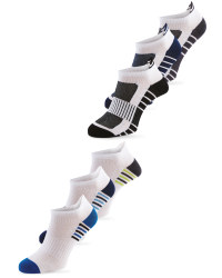 3 Pack Lower-Cut Fitness Socks