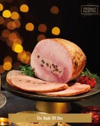 Luxury British Stuffed Ham Joint