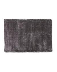Dark Grey Luxury Shaggy Rug