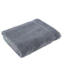 Luxury Egyptian Cotton Bath Sheet - Charcoal