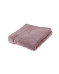 Luxury Egyptian Cotton Hand Towel - Mauve