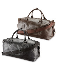 Avenue Luxury Leather Holdall