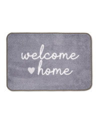 Welcome Home Luxury Plush Mat