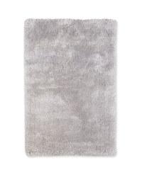 Small Luxury Shaggy Rug - Light Grey