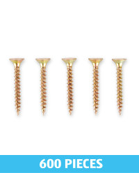 MDF Screws 600 Pack