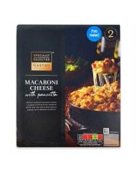 Macaroni Cheese With Pancetta