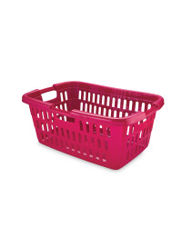 Magenta Laundry Basket