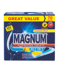 Magnum All In One Dishwasher Tablets