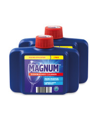 Magnum Dishwasher Cleaner Twin Pack