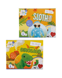 Make Your Own Sloth/Dino Puppets