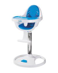 Mamia Blue Swivel Baby Highchair