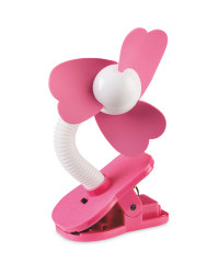 Mamia Clip on Fan - Pink