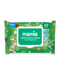 Mamia Fruity Wipes 30-Pack