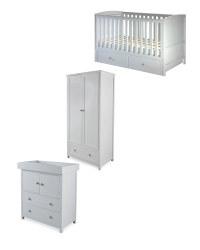 Mamia Grey Nursery Furniture Bundle