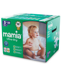 Mamia Size 5+ Nappies Jumbo Box