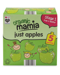 Mamia Just Apples Puree 5 Pack