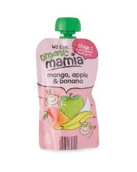 Mamia Organic Mango Apple & Banana