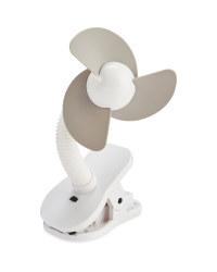 Mamia Pushchair Clip On Fan - Grey