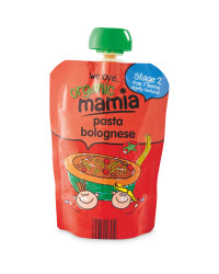 Mamia Stage 2 Pasta Bolognese
