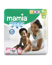 Ultra Dry X-Large Nappies Size 6+