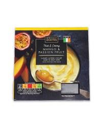 Mango & Passion Fruit Luxury Yogurt