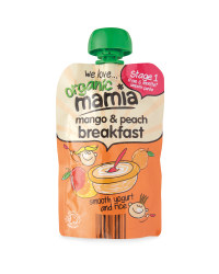 Mamia Mango & Peach Breakfast Pouch
