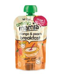 Mango & Peach Breakfast Pouch